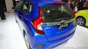Honda Jazz rear three quarters right at the Indonesia International Motor Show 2014