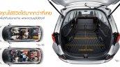 Honda Mobilio Thailand press shots boot
