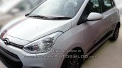 Hyundai Grand i10 SportZ edition front three quarters right