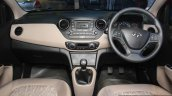Hyundai Xcent interior at the 2014 Nepal Auto Show