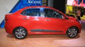Hyundai Xcent profile at the 2014 Nepal Auto Show