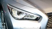 Infiniti Q50 Hybrid headlamp at the 2014 Indonesia International Motor Show