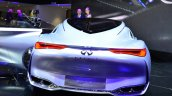 Infiniti Q80 Inspiration Concept rear fascia at the 2014 Paris Motor Show