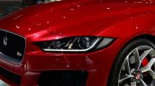 Jaguar XE S headlamp at the 2014 Paris Motor Show