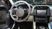 Jaguar XE cockpit at the 2014 Paris Motor Show