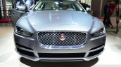 Jaguar XE front fascia at the 2014 Paris Motor Show