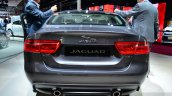 Jaguar XE rear at the 2014 Paris Motor Show