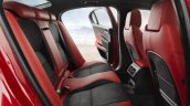 Jaguar XE rear seat official image