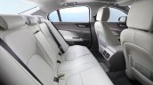 Jaguar XE rear seat white interior rear aircon vent official image