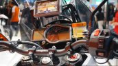 KTM 1290 Super Adventure digital instrument cluster at INTERMOT 2014
