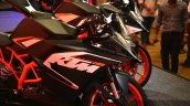 KTM RC200 fairing at the Indian launch