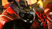 KTM RC200 headlamp at the Indian launch