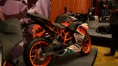 KTM RC390 and RC200 Race package rear three quarter