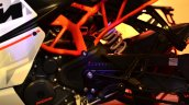 KTM RC390 frame at the Indian launch