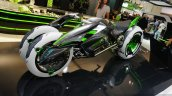 Kawasaki J-Concept front three quarters at the INTERMOT 2014