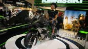 Kawasaki Ninja H2R front three quarters right at INTERMOT 2014
