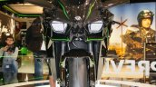 Kawasaki Ninja H2R headlamp at INTERMOT 2014