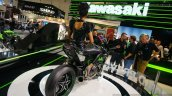 Kawasaki Ninja H2R rear three quarters right at INTERMOT 2014