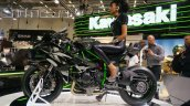 Kawasaki Ninja H2R side profile at INTERMOT 2014