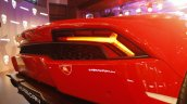 Lamborghini Huracan India Launch rear bumper