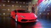 Lamborghini Huracan India launch live image