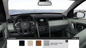 Land Rover Discovery Sport options interior