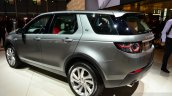 Land Rover Discovery Sport rear three quarters angle at the 2014 Paris Motor Show