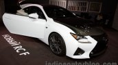 Lexus RC-F Carbon pack front three quarters at the 2014 Moscow Motor Show