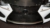 Lexus RC-F Carbon pack grille at the 2014 Moscow Motor Show
