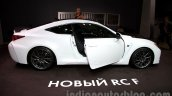 Lexus RC-F Carbon pack side at the 2014 Moscow Motor Show