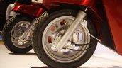 Mahindra Gusto launch front wheel