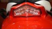Mahindra Mojo brake lamp at the 2014 Nepal Auto Show