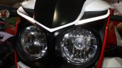 Mahindra Mojo dual headlamp at the 2014 Nepal Auto Show