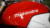 Mahindra Mojo fuel tank at the 2014 Nepal Auto Show