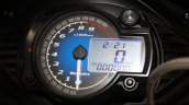 Mahindra Mojo instrument cluster at the 2014 Nepal Auto Show