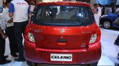 Maruti Celerio rear at the 2014 Nepal Auto Show