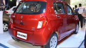 Maruti Celerio rear there quarter at the 2014 Nepal Auto Show