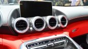 Mercedes AMG GT central AC vents at the 2014 Paris Motor Show
