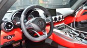 Mercedes AMG GT dashboard at the 2014 Paris Motor Show