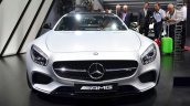 Mercedes AMG GT front at the 2014 Paris Motor Show