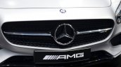 Mercedes AMG GT grill at the 2014 Paris Motor Show