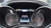 Mercedes AMG GT instrument console at the 2014 Paris Motor Show