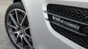 Mercedes AMG GT press image fender vent