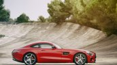Mercedes AMG GT press image red side