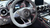 Mercedes AMG GT steering wheel at the 2014 Paris Motor Show