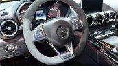 Mercedes AMG GT steering wheel at the 2014 Paris Motor Show