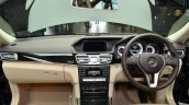 Mercedes E350 CDI launch dashboard