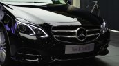 Mercedes E350 CDI launch front fascia