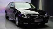 Mercedes E350 CDI launch front quarters