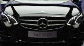Mercedes E350 CDI launch grille